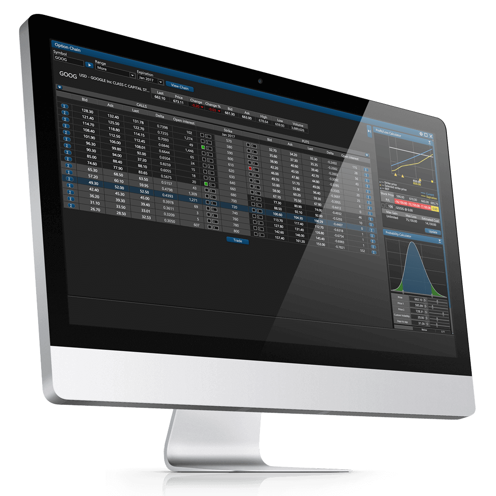 Option trading online brokers